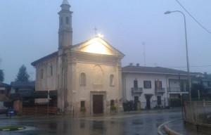 Borgo San Dalmazzo, la Chiesa di San Rocco si illumina per la lotta al cancro al polmone