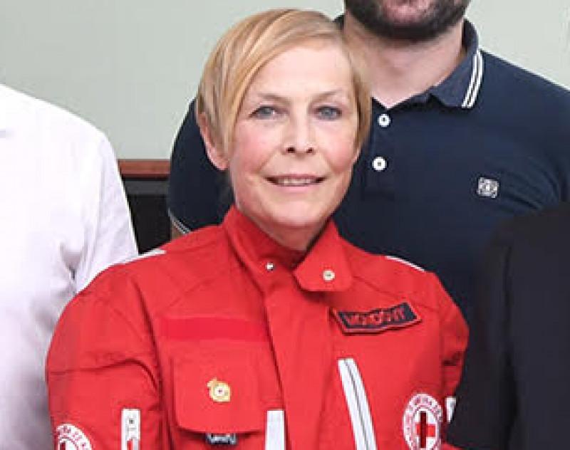Scomparsa a 60 anni la presidente della Croce Rossa di Mondovì
