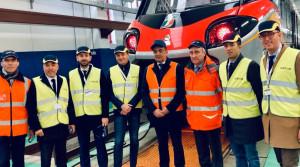 La Regione in visita allo stabilimento Alstom di Savigliano