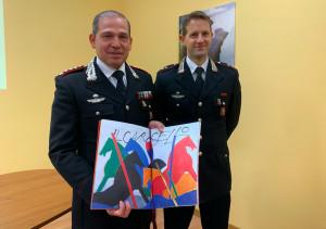 Cuneo, presentato il Calendario 2020 dell'Arma dei Carabinieri