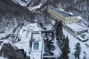Chiusa per l'inverno la strada tra Sant'Anna e Terme di Valdieri