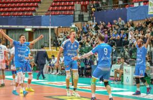 Pallavolo A3/M: Cuneo vince e convince contro Cisano Bergamasco