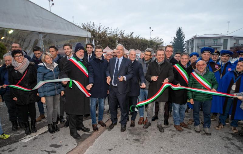 'BEE' più forte del maltempo: la carica dei 25 mila a Villanova Mondovì