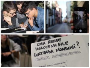 Tre aspiranti geometri vincono un premio con un progetto sull'accessibilità di Contrada Mondovì