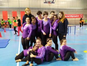 Le ginnaste di 'Amico Sport' protagoniste a Genova