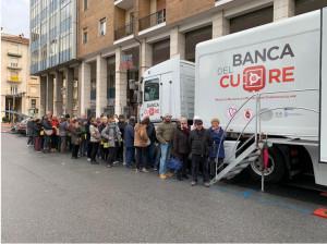Cuneo, un successo le visite cardiologiche gratuite in piazza Europa