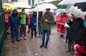 Croce Rossa di Peveragno: inaugurata postazione DAE in ricordo di Alessio Pellegrino