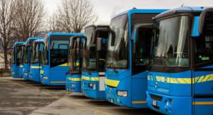 Gli autobus di linea di Cuneo sono i più veloci d'Italia