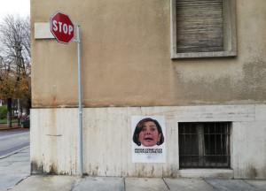 Cuneo, affissi nella notte manifesti contro la Boldrini: 'Pensa come vuoi, ma pensa come noi'