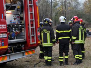 Il Parco Fluviale a fuoco tra Borgo e Vignolo... ma sarà solo un esercitazione