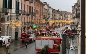 Vigili del Fuoco in città: a Cuneo la festa per Santa Barbara