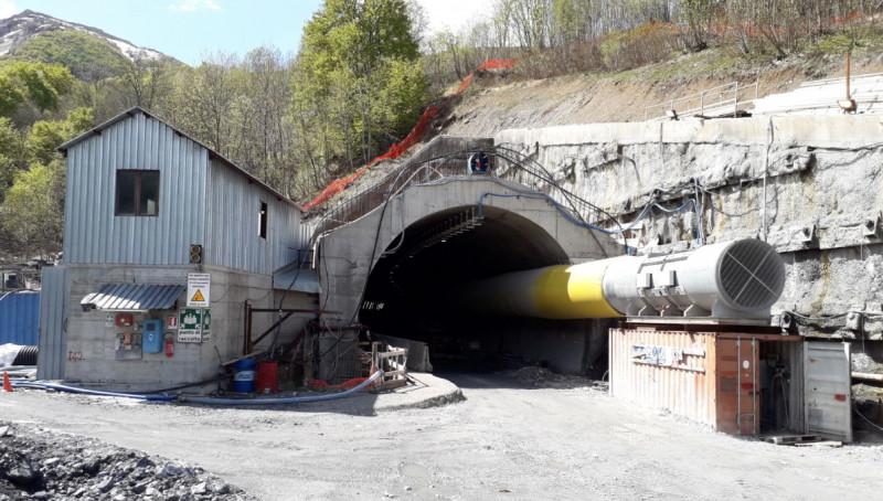 'Gli scavi per il raddoppio del tunnel del colle di Tenda ripartiranno a febbraio 2020'