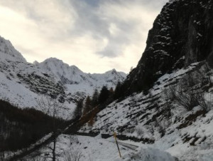 Cessato il pericolo valanghe, riaperte tre strade provinciali