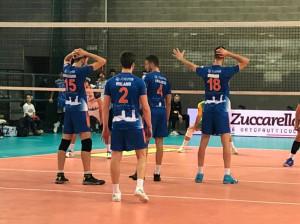 Pallavolo A2/M: la Synergy Mondovì cede al tie break contro la Materdomini
