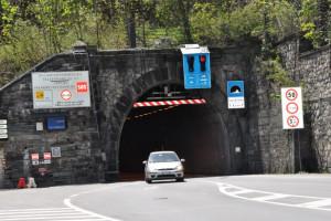 Tre nuove chiusure programmate per il tunnel del colle di Tenda