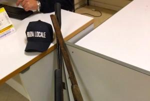 Fossano, rinvenuti dalla Municipale due fucili oggetto di furto