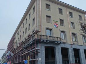 Conclusi i lavori alle facciate del palazzo della Provincia a Cuneo