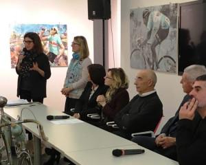 La mostra su Fausto Coppi allestita in San Francesco a Cuneo 'sbarca' a Milano