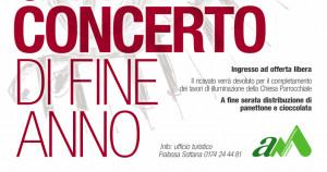 A Frabosa Sottana 'Gran Concerto di Fine Anno' il 27 dicembre