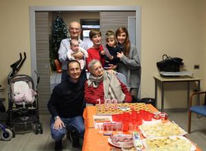 La donna più anziana di Cuneo ha compiuto 103 anni