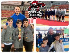 Un fine anno ricco di soddisfazioni per la Cuneo Scherma Academy