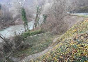 Frana sulla fondovalle Bormida di Millesimo, sondaggi geognostici per sistemare la strada