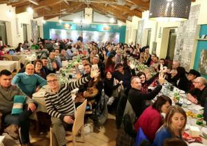 Più di cento persone 'Da Cianci' alla cena di Cuneo2night