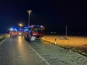 Auto fuori strada tra San Chiaffredo e Tarantasca, ferito il conducente