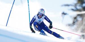 Sci alpino, Marta Bassino seconda al termine della prima manche del Gigante di Lienz