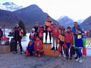 Biathlon, ad Entracque la prova Sprint del Campionato Regionale ad Aria Compressa