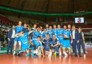 Pallavolo A3/M: Cuneo vince il derby piemontese, Torino al tappeto