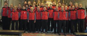 Il coro alpino 'La Marmotta' in concerto a Sant'Anna di Valdieri