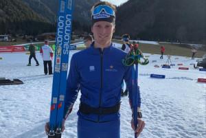 Sci nordico, OPA Cup: Daniele Serra nono nella 15 km in classico