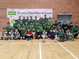Calcio Giovanile, il Caraglio fa il pieno di trofei al XXI° Torneo di Cuneo