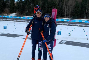 Biathlon, i cuneesi Martina Giordano e Marco Barale al debutto nelle Olimpiadi Invernali Giovanili