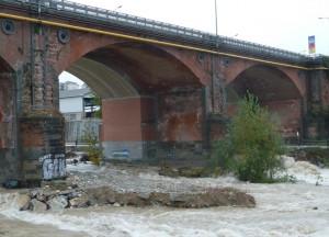 Da lunedì 13 gennaio restringimenti alla viabilità sul ponte Gesso di Cuneo per lavori