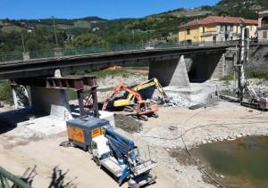 Consolidamento del ponte sul Bormida a Cortemilia nel tratto Castino-bivio provinciale 52 Pezzolo