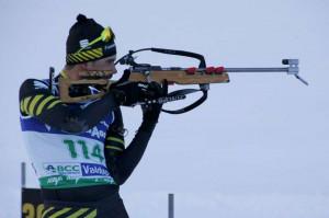 Biathlon, buona prestazione per l'entracquese Luca Ghiglione in Slovacchia
