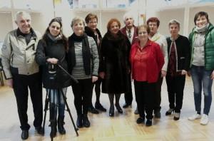 Le telecamere di Rai 3 al Centro d'Incontro di Fontanelle di Boves