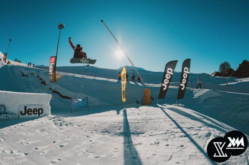 Il 'Deejay Xmasters Winter Tour' ha fatto tappa a Prato Nevoso