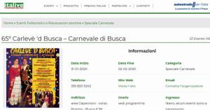 Il Carnevale di Busca è sul portale Italive.it