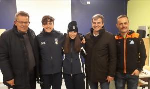 La valle Gesso accoglie i suoi olimpionici: festa per Martina Giordano e Marco Barale al ritorno da Losanna