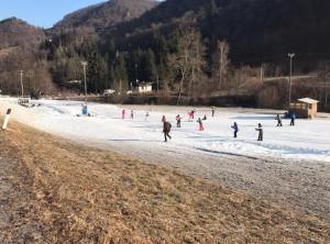 Grazie alla neve artificale riaprono le piste da sci di fondo della valle Pesio