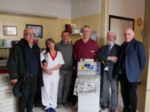 Dalla Fondazione CRS una nuova colonna per Endoscopia per l'ospedale di Saluzzo