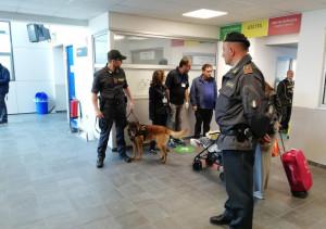 Controlli della Finanza all'aeroporto di Levaldigi, sequestrati sei chili di tabacchi provenienti dal Marocco
