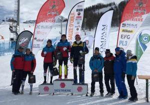 Sci alpino, Grand Prix Italia Aspiranti: Edoardo Saracco primo in Slalom al Sestriere
