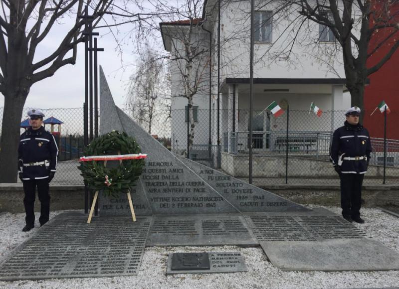 Domenica 2 febbraio ricorre l'anniversario dell'eccidio di San Benigno