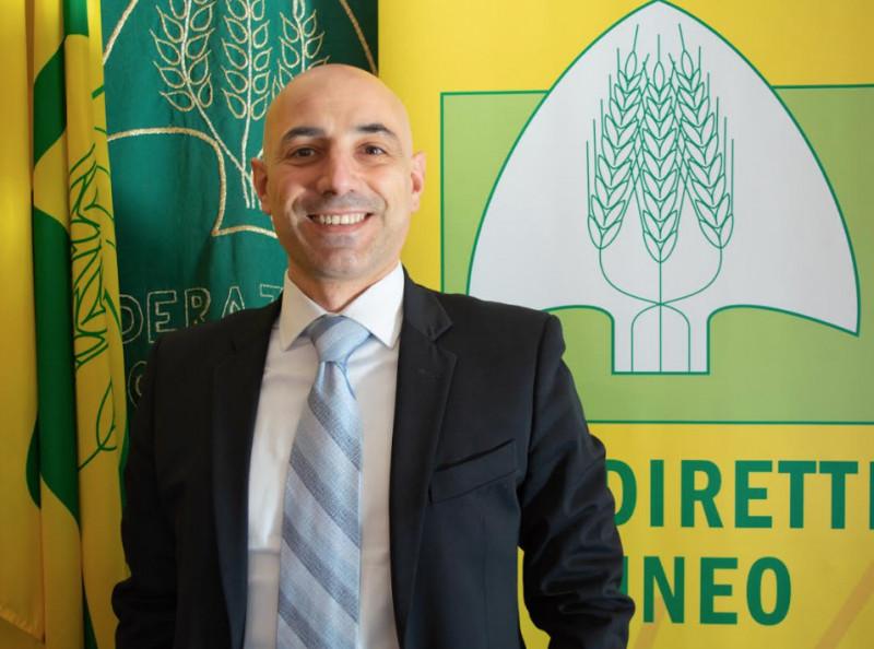 Fabiano Porcu è il nuovo direttore di Coldiretti Cuneo
