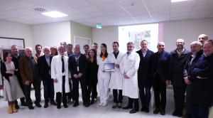 Inaugurato all'ospedale di Mondovì un ecografo acquistato grazie alla Fondazione della Bcc Pianfei-Rocca