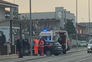 Cuneo, intervento del 118 in soccorso a un ciclista